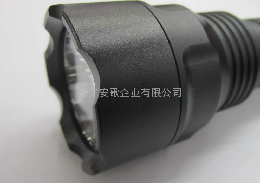 LICHAO立超 LC-C8 CREE T6 LED光面鋁光杯C8小頭強光手電筒 4