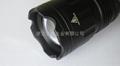 LICHAO立超 601 R2 LED透鏡伸縮強光手電筒 3