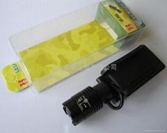 LICHAO LC205 CREE R2 LED zoom adjust