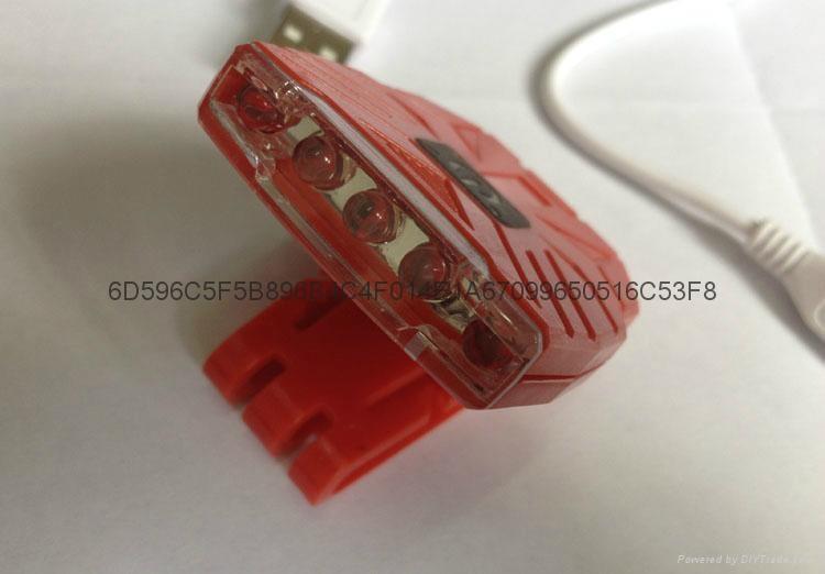 clip cap lamp