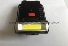 立超COB高亮USB充電帽燈 帽檐燈 夾帽燈釣魚燈