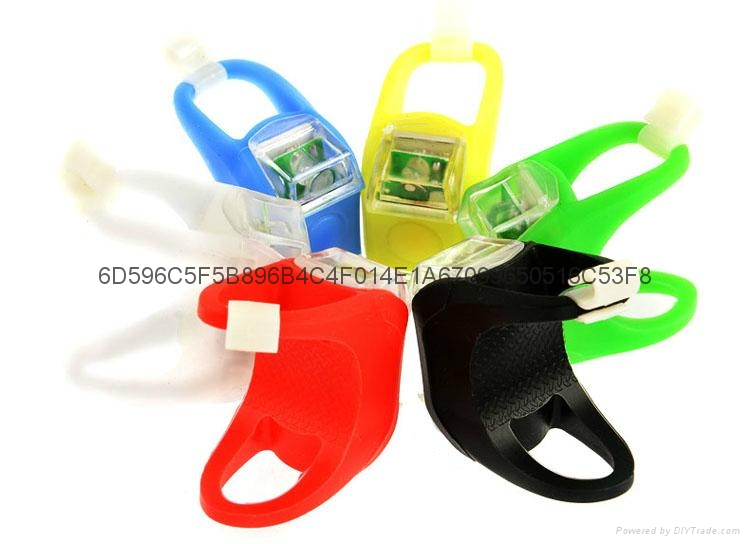 silicon bicycle light