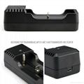 強光手電充電器 USB充電器   充 micro 5P 轉4.2V 18650充電器 6