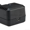 強光手電充電器 USB充電器   充 micro 5P 轉4.2V 18650充電器 7