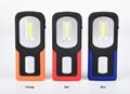 新款USB充電工作燈COB汽車維修燈應急手機充電車載磁鐵戶外車燈 8