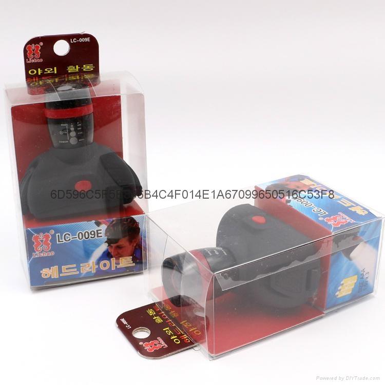 立超 戶外強光伸縮調焦頭燈 LED防水釣魚頭燈 礦燈 LC-009E頭燈 8