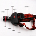 立超 戶外強光伸縮調焦頭燈 LED防水釣魚頭燈 礦燈 LC-009E頭燈 3