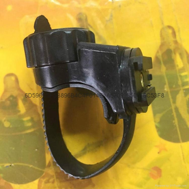 LICHAO立超360度自行车灯架 手电灯夹 LC-6#可调车扣 6