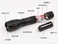 鋁合金T6強光手電筒 CREE XML T6伸縮調焦LED鋁合金手握式電筒 5