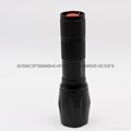 铝合金T6强光手电筒 CREE XML T6伸缩调焦LED铝合金手握式电筒 2