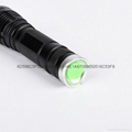 Power Bright Cree XM-L2 T6 U2 LED Aluminum Zoom Torch Flashlight 858#