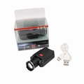 LICHAO CREE XPE USB rechargerable clip cap lamp LED Fishing headlamp LC-9007
