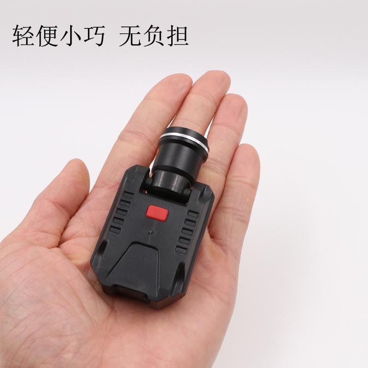 LICHAO 強光CREE XPE充電帽燈 USB帽檐燈 夾帽燈釣魚燈LC-9007 2