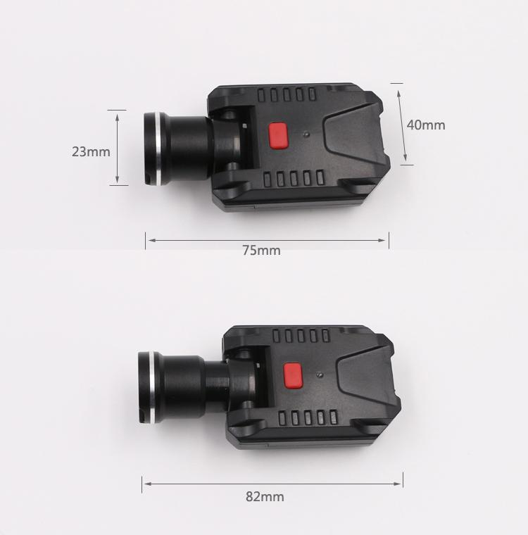 LICHAO 強光CREE XPE充電帽燈 USB帽檐燈 夾帽燈釣魚燈LC-9007 3