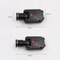 LICHAO LED Headlight USB rechargerable cap lamp LED headlamp for Fishing 9007# 3
