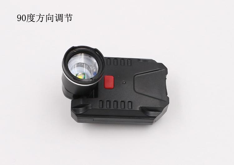 LICHAO 強光CREE XPE充電帽燈 USB帽檐燈 夾帽燈釣魚燈LC-9007 4