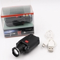 LICHAO LED Headlight USB rechargerable cap lamp LED headlamp for Fishing 9007# 8