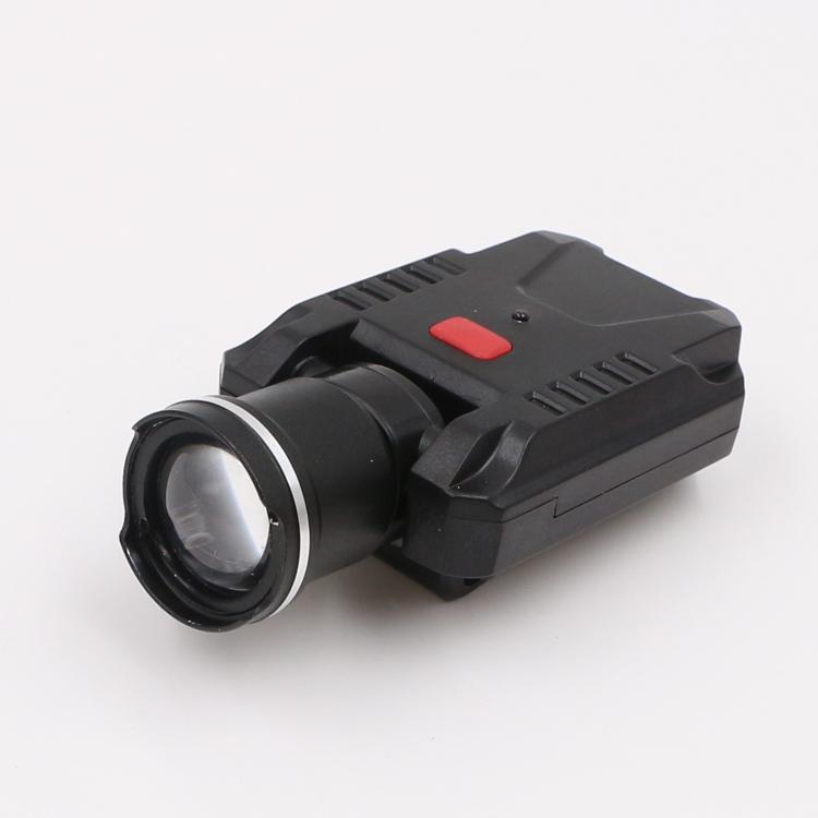 LICHAO LED Headlight USB rechargerable cap lamp LED headlamp for Fishing 9007# 10