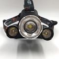 XML-T6 LED Super Bright LED Headlamp 4 Modes USB Charger Head Light For Camping