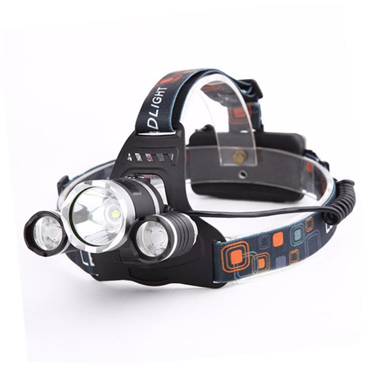 XML-T6 LED強光遠射頭燈 USB充電飛機頭燈戶外移動照明打獵釣魚RJ-3000# 1