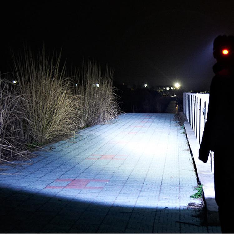 XML-T6 LED強光遠射頭燈 USB充電飛機頭燈戶外移動照明打獵釣魚RJ-3000# 6