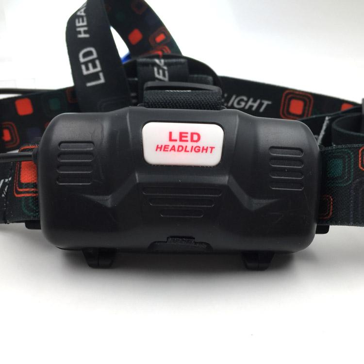 10W XML-T6 Aluminum Headlight 3 Modes 1000 Lumen Focus LED Rechargeable Headlamp 7