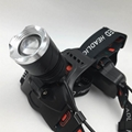 Powerful T6 LED Rechargeable headlamp Zoom Head Light LED Head Torch Light