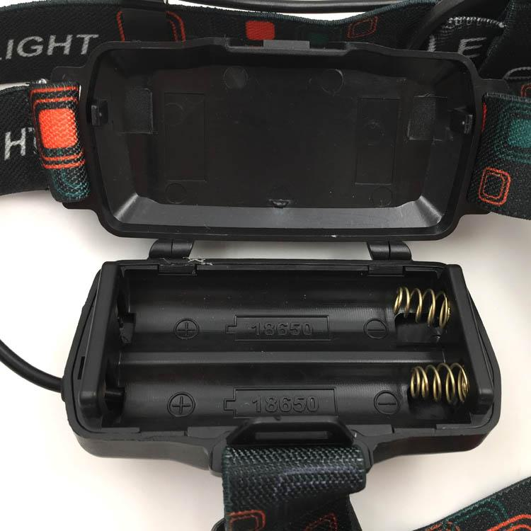 Powerful T6 LED Rechargeable headlamp Zoom Head Light LED Head Torch Light  7
