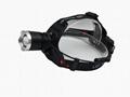 强光T6充电头灯旋转调焦头灯LED头戴灯户外照明打猎 10