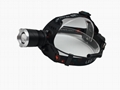 Powerful T6 LED Rechargeable headlamp Zoom Head Light LED Head Torch Light  10