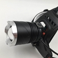Powerful T6 LED Rechargeable headlamp Zoom Head Light LED Head Torch Light  11