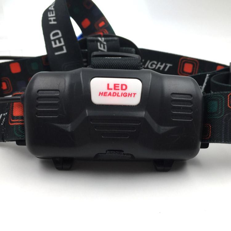强光T6充电头灯旋转调焦头灯LED头戴灯户外照明打猎 18