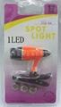3LED book light/reading light/cap light/clip-on spot light