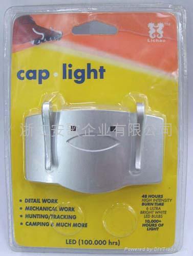 6LED書燈夾子燈閱讀燈帽燈帽子燈9003# 3