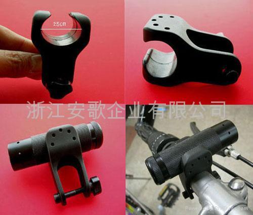 高档自行车夹 手电筒夹子 自行车灯夹A型 1