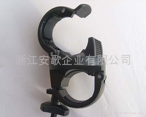 bike light clip/ bicycle light clip/torch plastic clip B 1