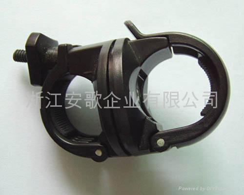bike light clip/ bicycle light clip/torch plastic clip B 2