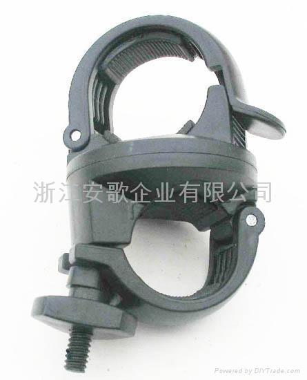 bike light clip/ bicycle light clip/torch plastic clip B 4