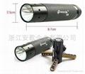 超亮印5W铝合金手电筒 1