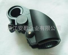 高檔新款自行車手電筒架/手電筒夾子/自行車燈夾F1型