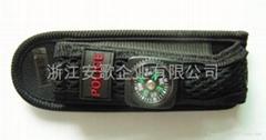 手電套 LED手電套帶挂扣裝飾指南針A套