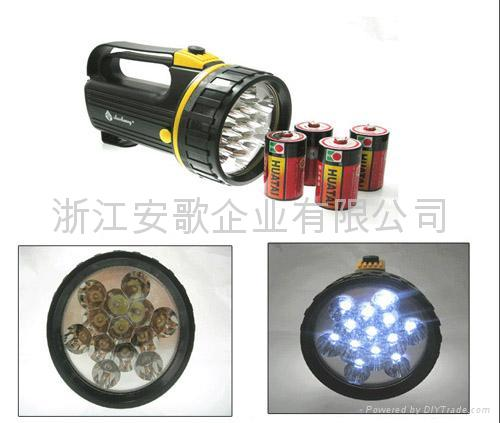 Super Bright 13LED searchlight/handed lamp/lantern light/Flashlights 2