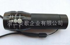 强光Cree灯泡超亮三功能带闪铝合金手电筒C30