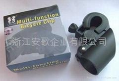 高檔新款自行車手電筒架/手電筒夾子/自行車燈夾F2型