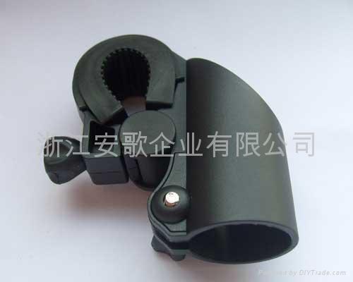 高档新款自行车手电筒架/手电筒夹子/自行车灯夹F2型 2