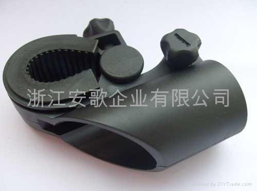 高檔新款自行車手電筒架/手電筒夾子/自行車燈夾F2型 3