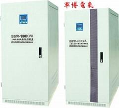 SBW大功率补尝式电力稳压器(东莞稳压器生产厂家)
