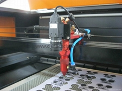 CCD laser cutting machine for label