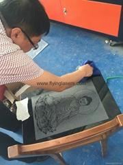 Marble/grantie/glass laser engraver machine