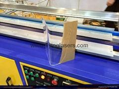 Acrylic PVC CNC bending machine